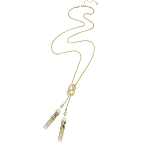 Millennium Necklace, Multi-colored, Gold-tone plated - Swarovski, 5416879