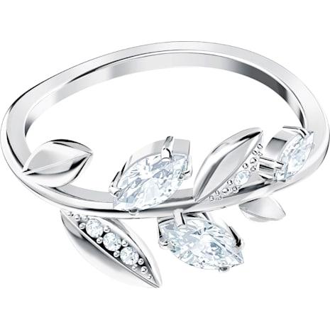 Mayfly 戒指, 白色, 鍍白金色 - Swarovski, 5423183