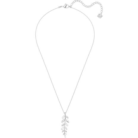 Pendentif Mayfly, blanc, Métal rhodié - Swarovski, 5423184