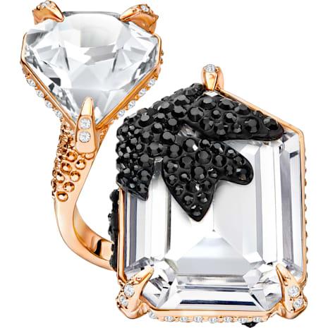 Manor Cocktail Ring, Multi-coloured, Rose-gold tone plated - Swarovski, 5423689