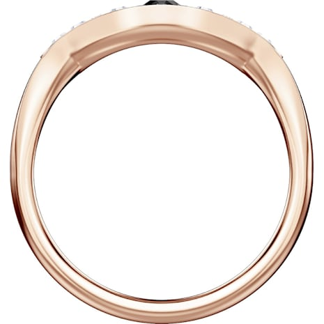 Swarovski Symbolic Evil Eye Ring, Multi-colored, Rose-gold tone plated - Swarovski, 5425858