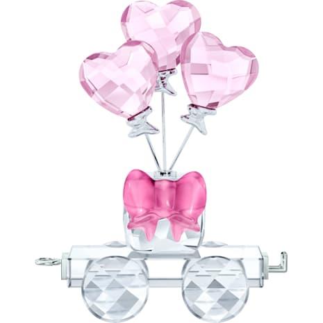 Heart Balloons Wagon - Swarovski, 5428615