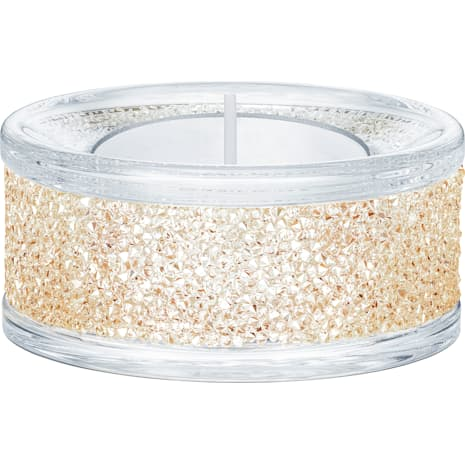 Portavelas Shimmer, tono dorado - Swarovski, 5428724