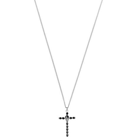 Taddeo Pendant, Black, Palladium plated - Swarovski, 5429877