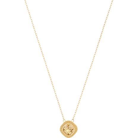 Lattitude Pendant, Golden, Gold-tone plated - Swarovski, 5430361