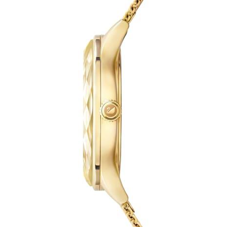 Octea Nova Watch, Milanese bracelet, Gold-tone PVD - Swarovski, 5430417