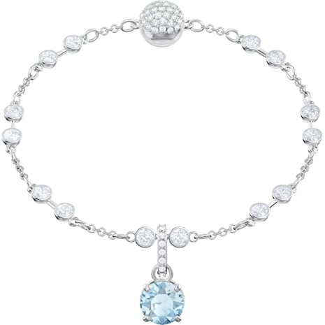 Swarovski Remix Collection Charm, Turkuaz, Rodyum kaplama - Swarovski, 5435642
