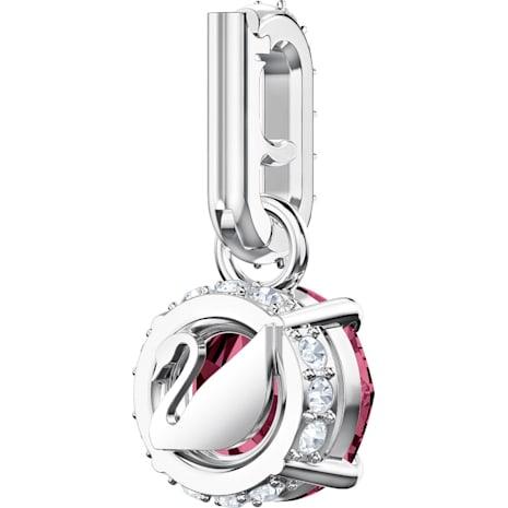 Swarovski Remix Collection Charm, Temmuz, Koyu kırmızı, Rodyum kaplama - Swarovski, 5437318