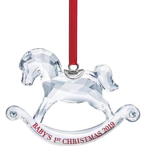 Ornement Premier Noël de Bébé, Édition Annuelle 2019 - Swarovski, 5439947