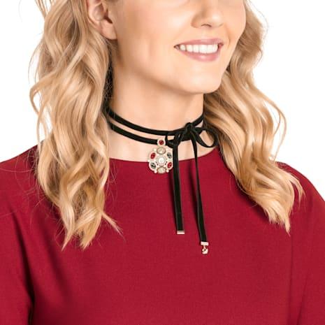 Millennium Halsband, mehrfarbig, Vergoldet - Swarovski, 5445388