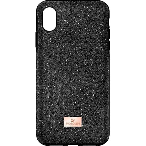 Custodia smartphone con bordi protettivi High, iPhone® XS Max, nero - Swarovski, 5449152