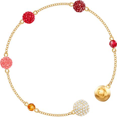 Swarovski Remix Collection Pop Strand, Многоцветный Кристалл, Покрытие оттенка золота - Swarovski, 5451315