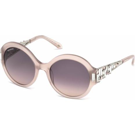 Nile Round Sunglasses, SK162-P 57E, Pink - Swarovski, 5456281