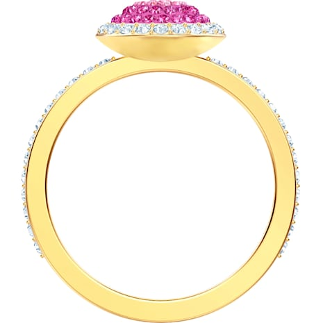Anillo No Regrets, multicolor, Baño en tono Oro - Swarovski, 5457494
