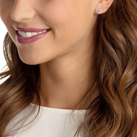 No Regrets Ice Cream Pierced Earrings, Multi-colored, Gold-tone plated - Swarovski, 5457497