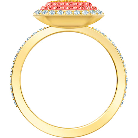 No Regrets Ring, Multi-coloured, Gold-tone plated - Swarovski, 5457503