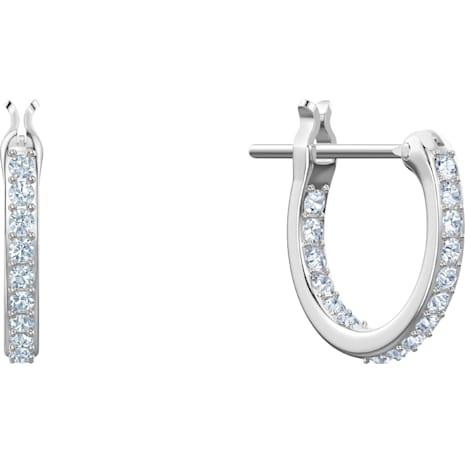 No Regrets Cocktail Pierced Earrings, Multi-colored, Rhodium plating - Swarovski, 5457661