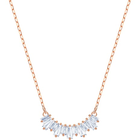 Sunshine Колье, Белый Кристалл, Покрытие оттенка розового золота - Swarovski, 5459590