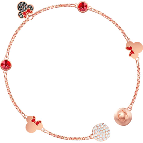 Swarovski Remix Collection Minnie Strand, mehrfarbig, Rosé vergoldet - Swarovski, 5462365
