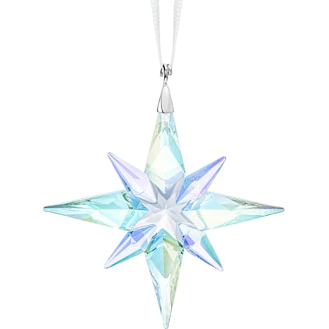 Ornement Étoile, Crystal AB, petit modèle - Swarovski, 5464868