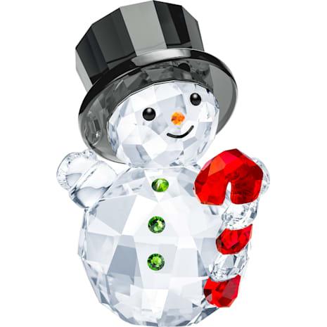 Pupazzo di Neve con Bastoncino di Zucchero - Swarovski, 5464886