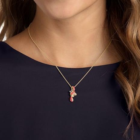 Pendentif Ocean Crab, multicolore, métal doré - Swarovski, 5465940