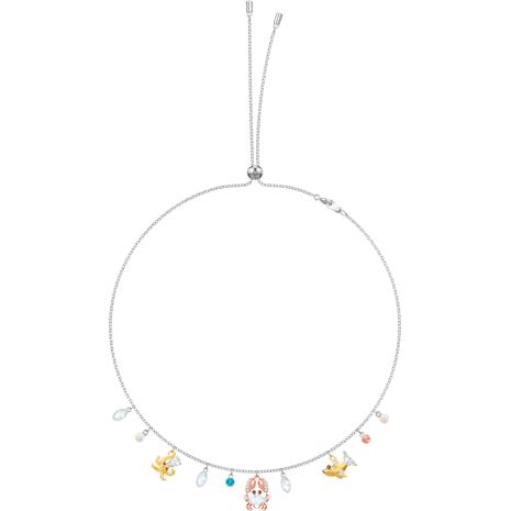 Ocean Halsband, mehrfarbig, Metallmix - Swarovski, 5480781