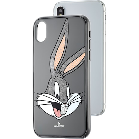 Looney Tunes Bugs Bunny Smartphone Case, iPhone® X/XS, Gray - Swarovski, 5499822