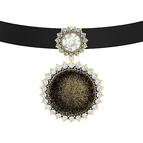 Millennium Choker, Multi-coloured, Gold-tone plated - Swarovski, 5505651