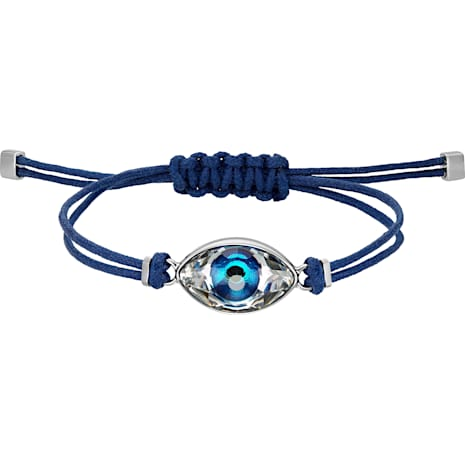 Swarovski Power Collection Evil Eye Bracelet, Blue, Stainless steel - Swarovski, 5506865