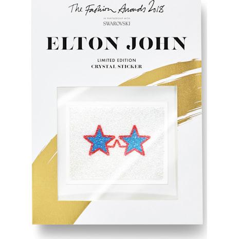 The Fashion Awards 2018 Elton John Swarovski crystal stickers - Swarovski, 5507965