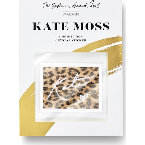 Les stickers Kate Moss ornés de cristal Swarovski, Fashion Awards 2018 - Swarovski, 5507967