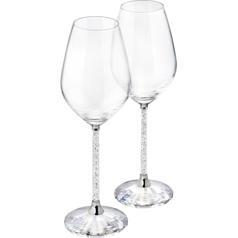 Crystalline Bicchieri da Vino (set di 2) - Swarovski, 1095948