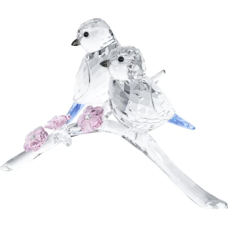 藍冠山雀(一對) - Swarovski, 5004727