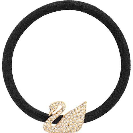 Iconic Swan 彈力髮圈 - Swarovski, 5171358
