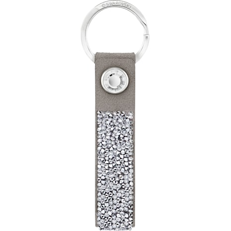 Glam Rock Key Ring, Gray, Stainless steel - Swarovski, 5174951