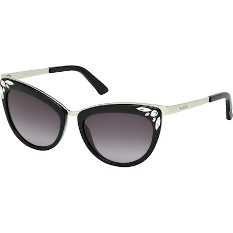 Fortune Sunglasses, SK0102-F 01B, Black - Swarovski, 5219662