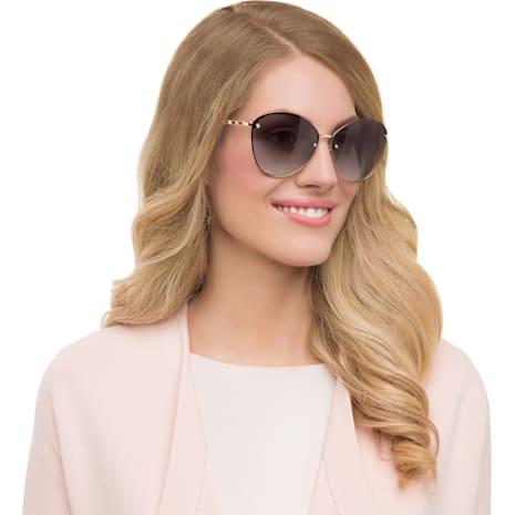 Friendship Sunglasses, SK0119 32F, Havana - Swarovski, 5219663