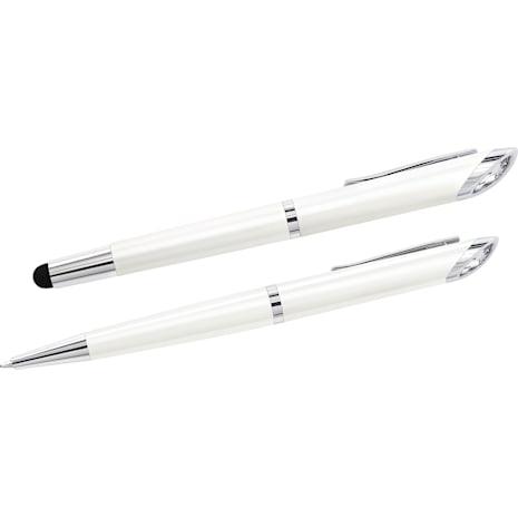Crystal Starlight Stylus Ballpoint Pen, White - Swarovski, 5224381