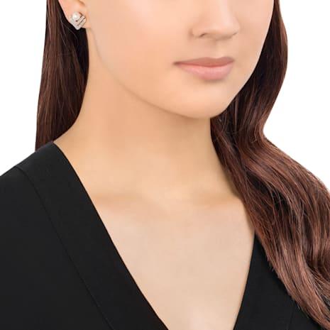 Edify Clip Earrings - Swarovski, 5231215