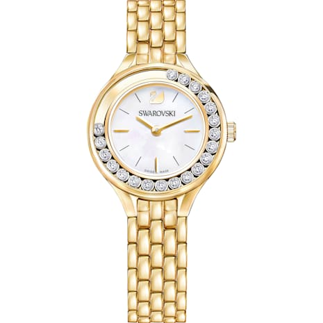 Lovely Crystals Uhr, Metallarmband, Vergoldetes PVD-Finish - Swarovski, 5242895