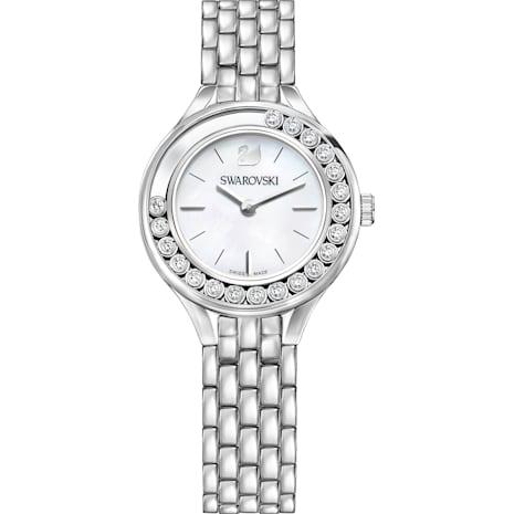 Montre Lovely Crystals, Bracelet en métal, acier inoxydable - Swarovski, 5242901