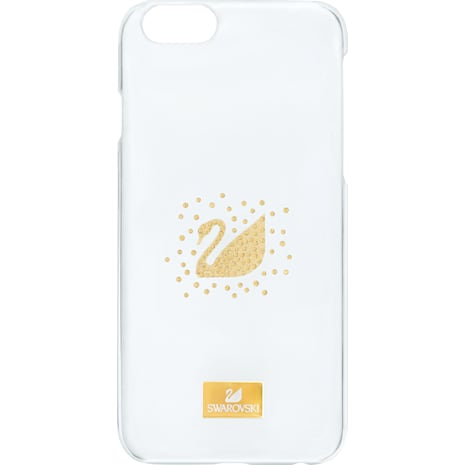 Swan Golden Smartphone Case, iPhone® SE - Swarovski, 5272717
