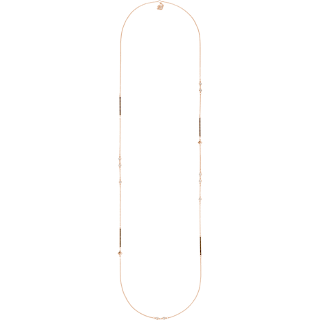 Glowing Strandage, Multi-colored, Rose-gold tone plated - Swarovski, 5273302