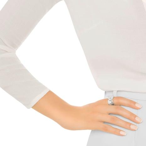Anello Guardian, bianco, placcatura rodio - Swarovski, 5279057