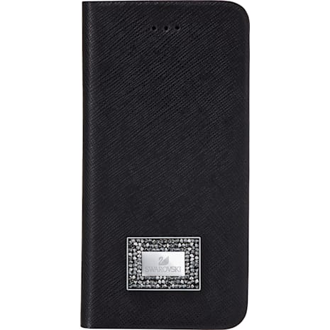 Versatile Smartphone Book Case with Bumper, Samsung Galaxy S® 7, Black - Swarovski, 5285093