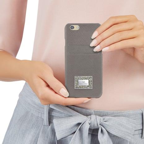 Versatile Smartphone Case with Bumper, iPhone® 6 Plus / 6s Plus, Grey - Swarovski, 5285099