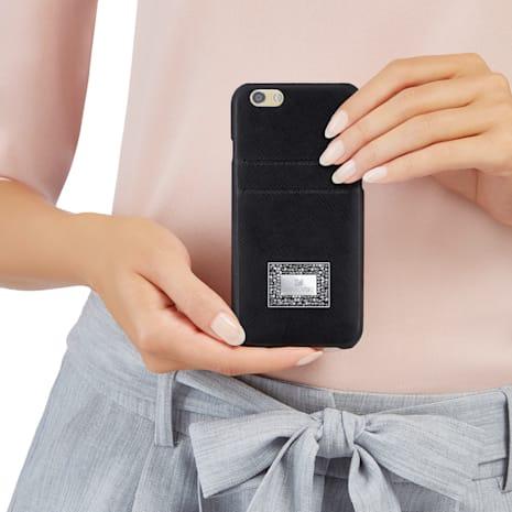 Versatile Smartphone Case with Bumper, iPhone® 7 Plus, Black - Swarovski, 5285105