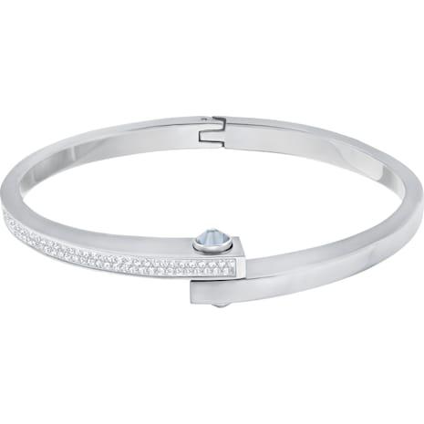 Bracelet-jonc Get Narrow, blanc - Swarovski, 5294949