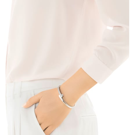 Get Narrow Bangle, White - Swarovski, 5294949